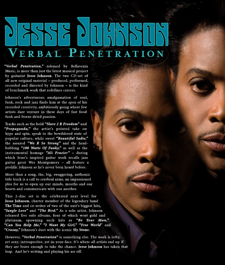 Jesse johnson verbal penetration fye